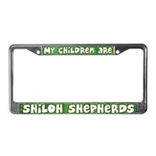 My Children Shiloh Shepherd License Plate Frame