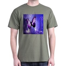 Purple Butterfly T-Shirt
