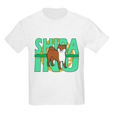 Power Cartoon Shiba Inu T-Shirt