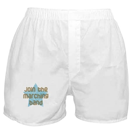 Join the Marching Band Boxer Shorts