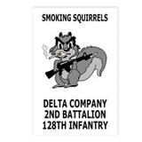 2-128th Infantry <BR> D Co. Micro Posters