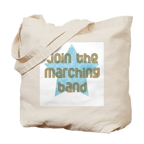 Join the Marching Band Tote Bag
