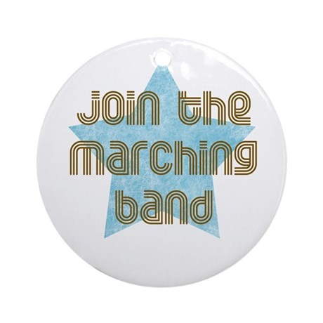 Join the Marching Band Ornament (Round)
