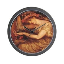 Sea Spell Wall Clock