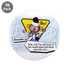 "Catching Up With Charlie... 3.5"" Button (10 pack)"
