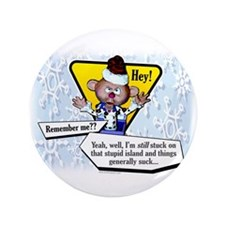 "Catching Up With Charlie... 3.5"" Button (100 pack)"