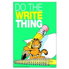 Garfield Writing Posters