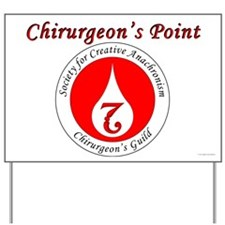 SCA Chirurgeon's Guild Chirurgeon's Point Sign