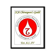 SCA Chirurgeon's Guild Framed Panel Print