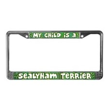 My Kid Sealyham Terrier License Plate Frame