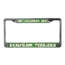 My Children Sealyham Terrier License Plate Frame