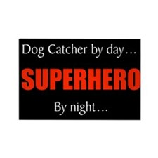 dog catcher Rectangle Magnet (100 pack)