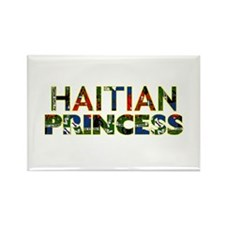 Unique Haiti map Rectangle Magnet (100 pack)