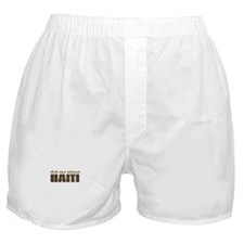 Cute Haiti map Boxer Shorts