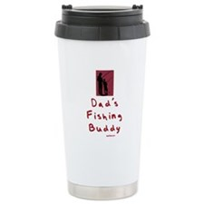 Dad's Fishing Buddy Ceramic Travel Mug
