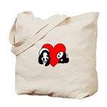 Panda Bear Love Tote Bag
