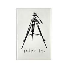 Tripod - Stick it! Rectangle Magnet (10 pack)
