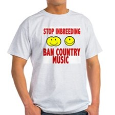 ban country music T-Shirt