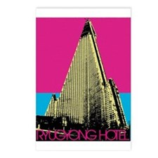 Ryugyong Hotel Postcards (Package of 8)