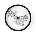 Jack Kirby Wedgehead Wall Clock
