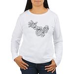 Jack Kirby Wedgehead Women's Long Sleeve T-Shirt