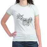 Jack Kirby Wedgehead Jr. Ringer T-Shirt