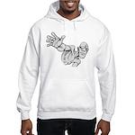 Jack Kirby Wedgehead Hooded Sweatshirt