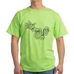 Jack Kirby Wedgehead Green T-Shirt