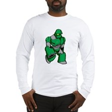 Robot Green Long Sleeve T-Shirt