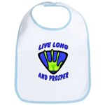 Live Long And Prosper Bib
