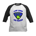Live Long And Prosper Kids Baseball Jersey