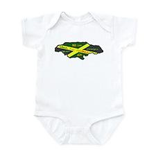 Jamaica Fag Infant Bodysuit