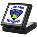 Live Long And Prosper Keepsake Box