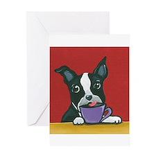Java Boston Greeting Card