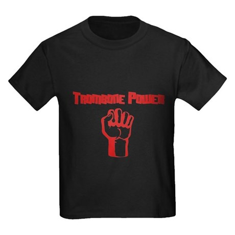 Trombone Power Kids Dark T-Shirt