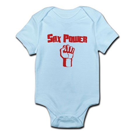 Sax Power Infant Bodysuit
