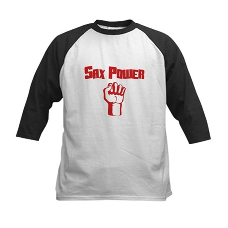 Sax Power Kids Baseball Jersey