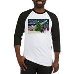 XmasMagic/Black Dane Baseball Jersey