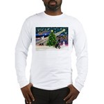 XmasMagic/Black Dane Long Sleeve T-Shirt