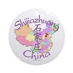 Shijiazhuang China Ornament (Round)