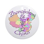 Zhangjiakou China Ornament (Round)