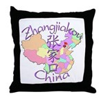 Zhangjiakou China Throw Pillow