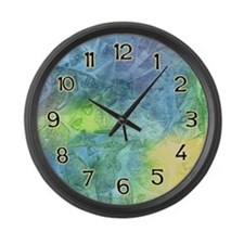 Undersea Luminescence Large Wall Clock