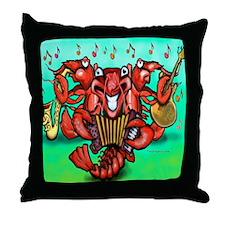 Cute Crawfish Throw Pillow