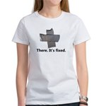 there. it's fixed. duct tape Women's T-Shirt