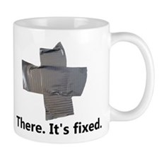 There. It's fixed. Duct Tape Gifts Mug