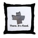 There. It's fixed. Duct Tape Gifts Throw Pillow