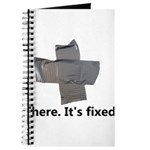 There. It's fixed. Duct Tape Gifts Journal