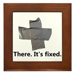 There. It's fixed. Duct Tape Gifts Framed Tile