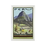 Peru Rectangle Magnet